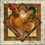 JS-Mother Hen - Tile Mural