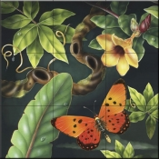 RS-Acrea Butterfly - Tile Mural
