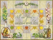 Seasoned with Love - RS - Tile Mural