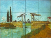 Bridge at Arles - Tile Mural