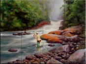 Good Fishing - MS - Tile Mural
