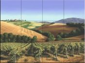 Under Tuscan Skies - MS - Tile Mural