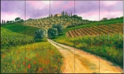 Tuscan Road - MS - Tile Mural