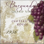 Grand Vin Burgundy - CB - Accent Tile