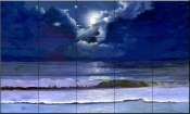 Moonscape    - Tile Mural