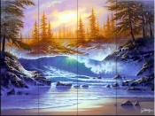 Lullaby Sea-JR - Tile Mural