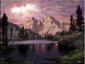 Transcendent Beauty - JR - Tile Mural