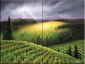 The Vineyard Meadow - JR - Tile Mural