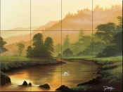 In The Morning Light - JR - Tile Mural
