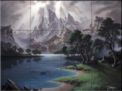 Tranquil Moment - JR - Tile Mural