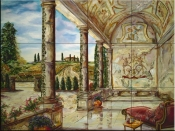 Villa Angelica - JR - Tile Mural