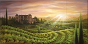 Vineyard Vista - JR - Tile Mural
