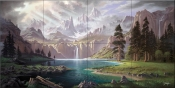 Symphony of the Sierras - JR - Tile Mural