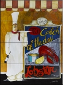 Catch of the Day - JG - Tile Mural