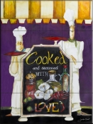 Cooked With Love - JG - Tile Mural