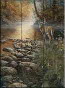 Beside Still Waters - JH - Tile Mural