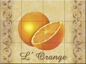 LC-The Oranges - Tile Mural