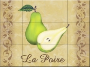 LC - The Pears - Tile Mural