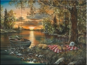 Lakeside Rendezvous - JH - Tile Mural