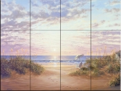 Paradise Dawn-KS - Tile Mural