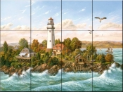 Midsummer Breeze - KS - Tile Mural
