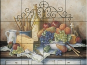 Wrought Iron - BF - Tile Mural