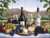 Still Life with a View - BF - Tile Mural