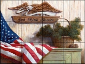 God Bless America - TC - Tile Mural