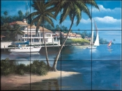 Safe Harbor - TC - Tile Mural