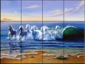 Wild Waters - JW - Tile Mural