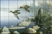 Waters Edge    - Tile Mural