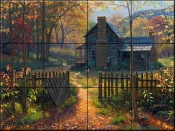 Welcom Fall - MK - Tile Mural