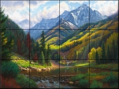 Peaceful Valley - MK - Tile Mural