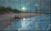Moonlit Cover - MK - Tile Mural