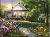Summer Evening I - HP - Tile Mural