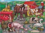 Farm Mothers and Babies - Tile Mural