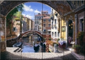 Archway To Venice    - Tile Mural