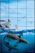 Cobia Quest    - Tile Mural