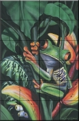 Rainforest Prince    - Tile Mural