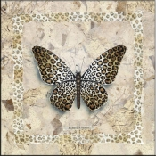 A Little Leopard    - Tile Mural