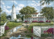 Ocracoke Lighthouse    - Tile Mural