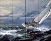 Open Sea    - Tile Mural