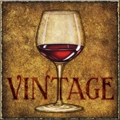 DM-Vintage Wine - Accent Tile
