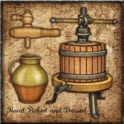 DM-Wine Press - Accent Tile