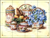 Antique China    - Tile Mural