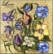 CJ-Love Is Patient - Accent Tile