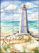 Refresh    - Tile Mural