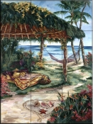 Treasures Of Coral Cay    - Tile Mural