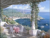 Cala Giverola Spain    - Tile Mural
