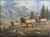 Aspen Meadow    - Tile Mural